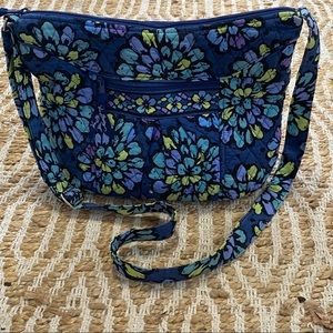 Vera Bradley Bag Indigo Pop Cross Body